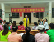 省妇联宣讲十九大精神暨扶贫普法活动进定点扶贫村
